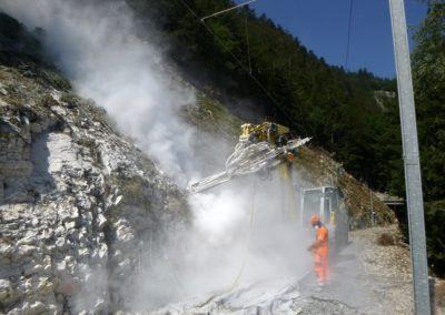 Dangers pierre sécurisation train