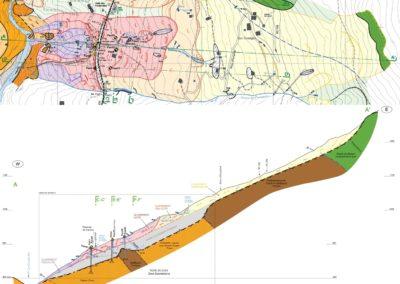 Glissement cartographie hydrogéologie
