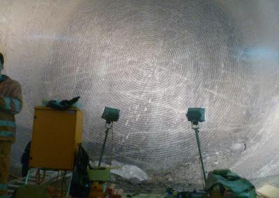 Tunnelier barrage Nant de Dranse