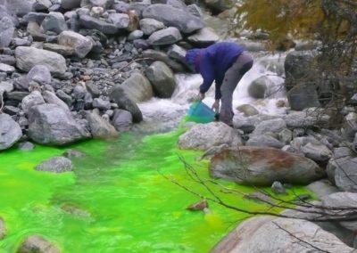 Traçage Valais Hydrogéologie