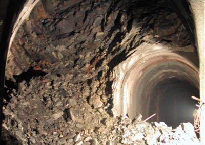 Cleuson-Dixence Excavation géologie