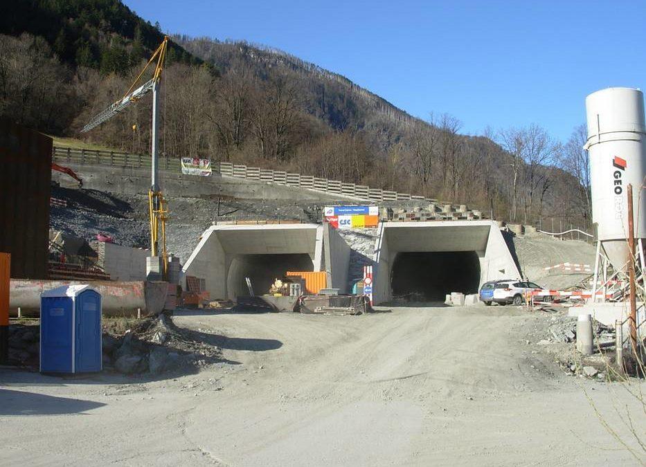 A9 Tunnels de Viège et Eyholz